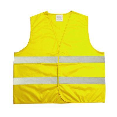 Warnweste Sicherheitsweste gelb gelb Promo, nach DIN EN ISO 20471:2013