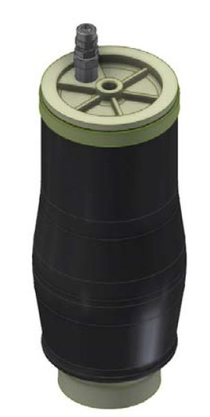 ( LF1) Ersatz- Luftbalg ( Luftfederbalg ) Top Drive ESI 550035 4,5 Zoll