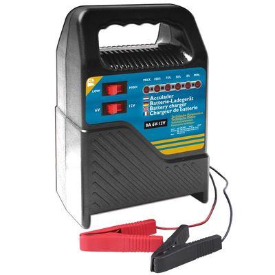 AGM u. Blei Säure Batterieladegerät 6V/12V 8Amp.