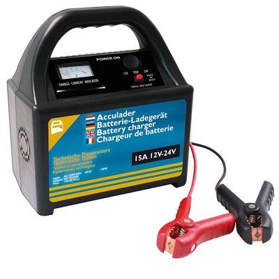 AGM u. Blei Säure Batterieladegerät 12V/24V 15Amp. (4er Pack)