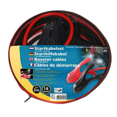 Starthilfekabel, Überbrückungskabel, 16mm TüV- GS-geprüft