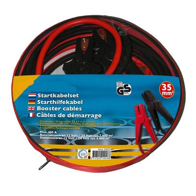 Starthilfekabel, Überbrückungskabel, 35mm TüV- GS-geprüft