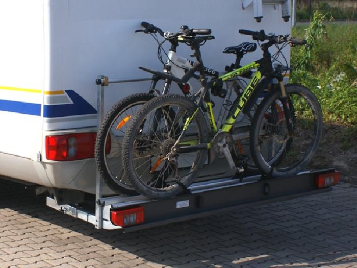 ALUTRANS ECO prestige Wohnmobil Fahrradträger für 2 Fahrräder o. E-Bike