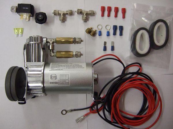 ( LF1) Hochleistungskompressor Premium für Luftfederanlagen, 6,00 mm, 130/5