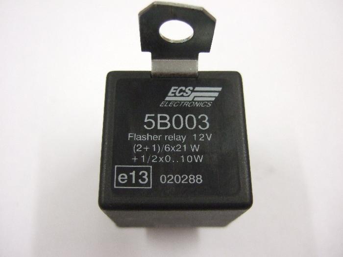 Modul Steuergerät ECS Flasher Relais 12V (2+1)-6x21W + 1-2x10W 5B003