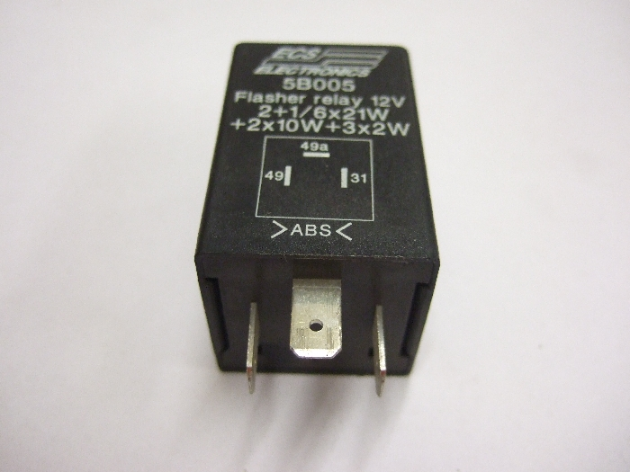 Modul Steuergerät ECS Flasher relay 12V 2+1-6x21W + 2x10W+3x2W 5B005