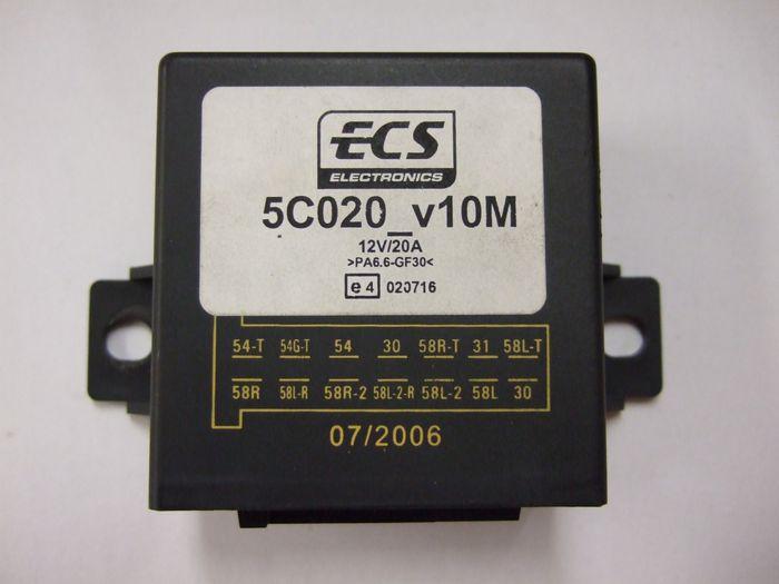 Modul Steuergerät ECS 14pol- 5C020_v10M, 07/2006