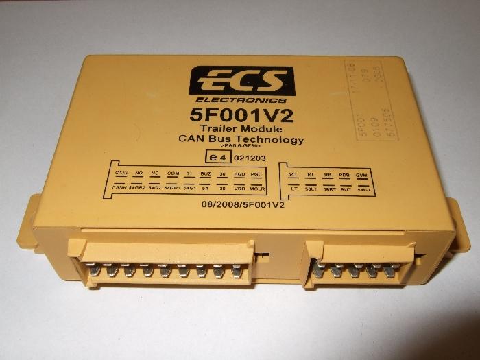 Modul Steuergerät ECS 5F001V2 CAN Bus.