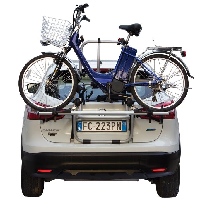 Daihatsu Charade, 3/5-T Fließheck Bj. 1993-2000, Fabbri Fahrradträger f. E- Bike- Elektrofahrrad