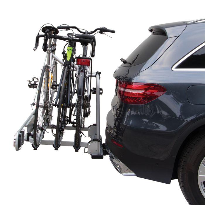 Fahrradträger Fabbri Bici Exclusiv Deluxe II, 3 Fahrr. für d. Anhängerkupplung AHK Fahrradträger für 3 Fahrräder