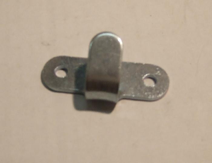 Abspannhaken, Planenhaken, Zweiloch, Metall, 1 Stk.