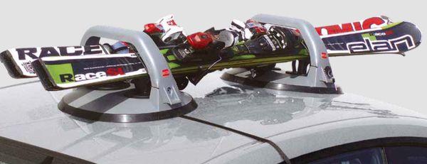 Fabbri Magnet Skiträger f. BMW 3-er, 4-T Limousine Bj. 2007-2009, ohne Reling