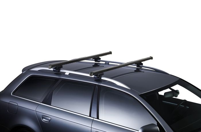 Thule Dachträger m. Stahlprofil f. Toyota Sequoia, 5-T SUV Bj. 2008-, m. offener Reling