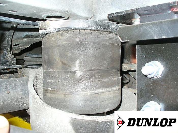 ( LF3) Ersatz- Luftbalg ( Luftfederbalg ) Dunlop 7700314153 (Renault Master Hinterachse)