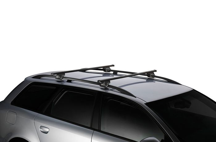 Thule Dachträger m. Stahlprofil f. Suzuki SJ 410, 3-T SUV Bj. 1982-1992, m. offener Reling