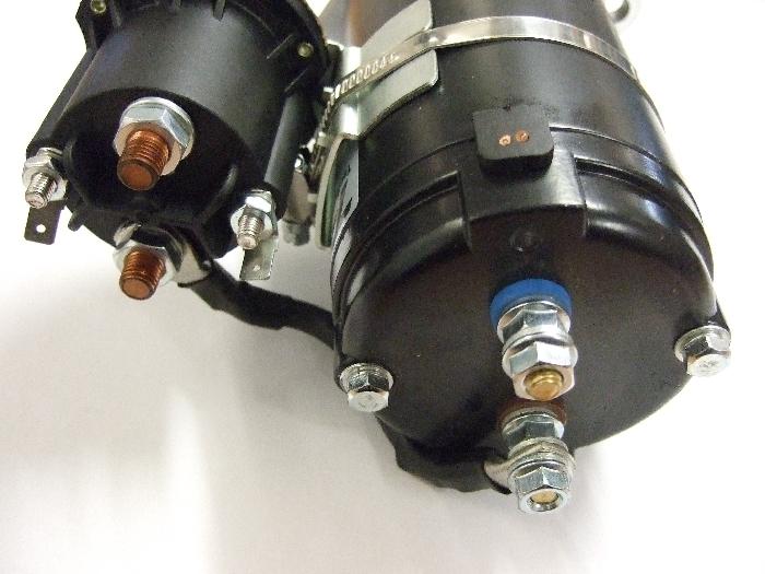 Zubehör Hydraulik: Pumpen-Motor 800W für AMPLO Hubstützen