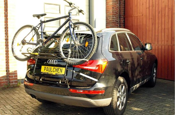 audi q5 fahrradtr ger als hecktr ger. Black Bedroom Furniture Sets. Home Design Ideas