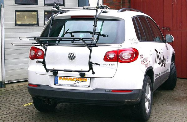 vw vw tiguan r line fahrradtr ger als hecktr ger. Black Bedroom Furniture Sets. Home Design Ideas