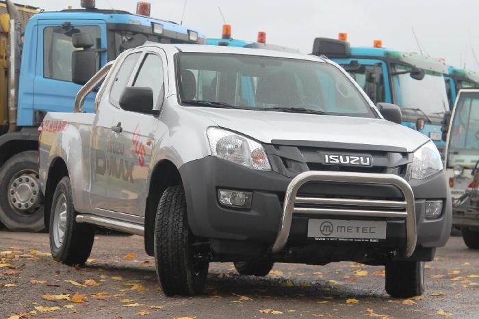 Frontschutzbügel Kuhfänger Bullfänger Isuzu D-Max 2012-2017, EuroBar 70mm Edelstahl