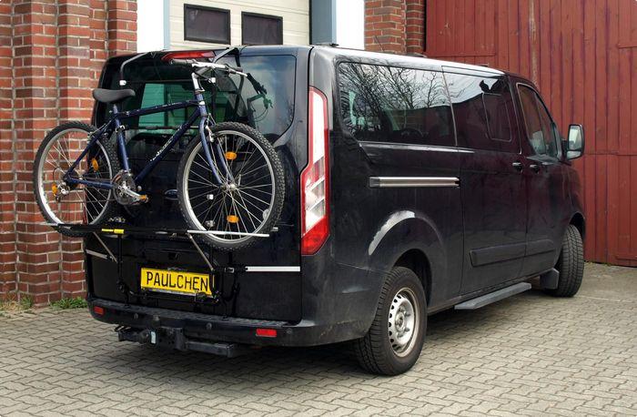 ford tourneo tourneo custom fahrradtr ger als hecktr ger. Black Bedroom Furniture Sets. Home Design Ideas
