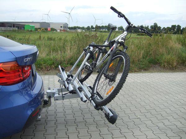 ALUTRANS BackBOXX Premium Komplettsystem Bike 4 für d. Anhängerkupplung AHK Lastenträger