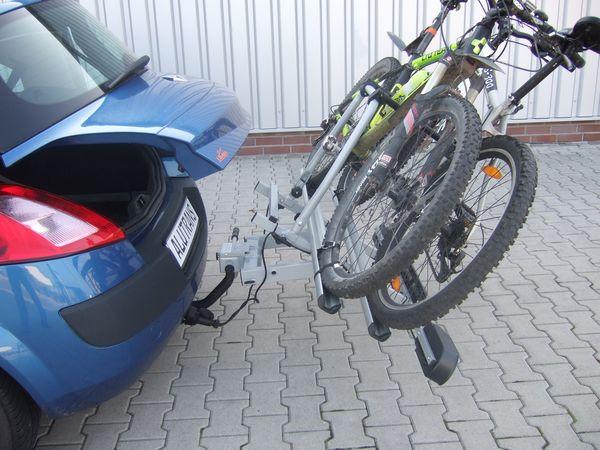 ALUTRANS BackBOXX Premium Komplettsystem Bike 2 für d. Anhängerkupplung AHK Lastenträger