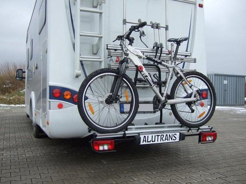 alutrans womobike ahk hecktr ger spez f wohnmobil. Black Bedroom Furniture Sets. Home Design Ideas