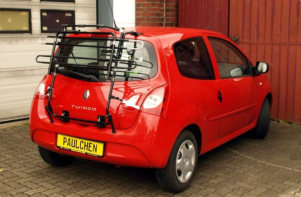 renault twingo fahrradtr ger als hecktr ger. Black Bedroom Furniture Sets. Home Design Ideas