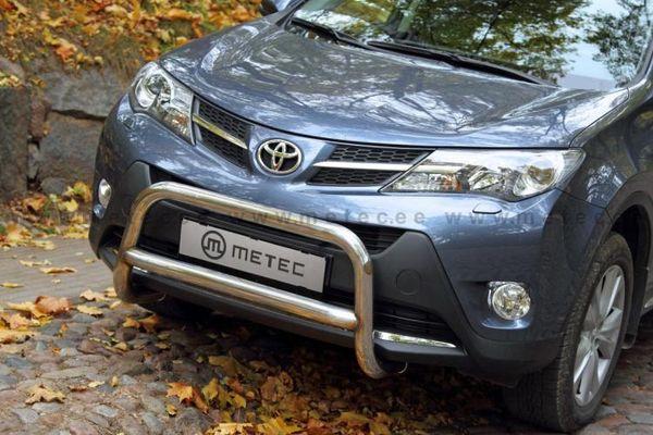 Frontschutzbügel Kuhfänger Bullfänger Toyota RAV4 2013-2015, EuroBar 60mm Edelstahl