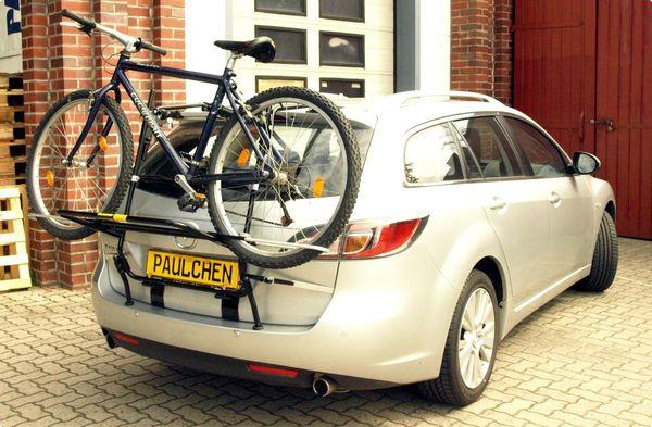 mazda 6 kombi fahrradtr ger als hecktr ger. Black Bedroom Furniture Sets. Home Design Ideas