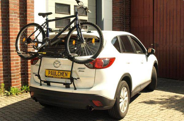 mazda cx5 fahrradtr ger als hecktr ger. Black Bedroom Furniture Sets. Home Design Ideas