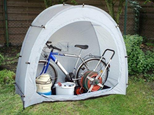 die fahrradgarage von alutrans als mobile garage die mobile garage von alutrans als. Black Bedroom Furniture Sets. Home Design Ideas