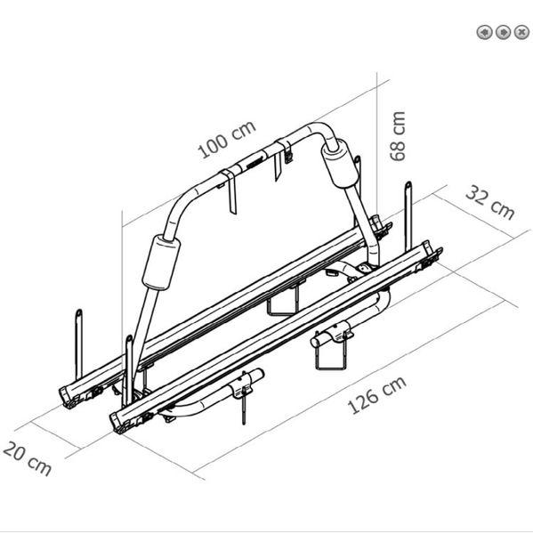 fahrradtr ger thule caravan light zubeh r f r camping. Black Bedroom Furniture Sets. Home Design Ideas
