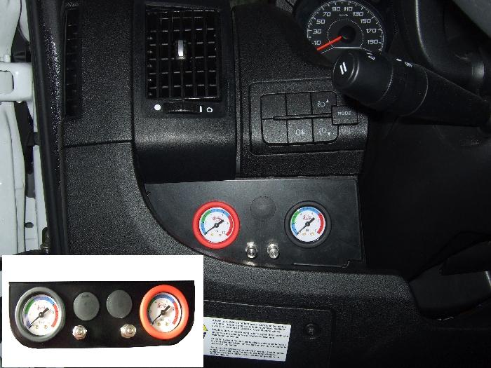 Fiat Ducato Eurochassis X250, intern X290 (2014-), Zusatz-Luftfederung 8 Zoll Zweikreis Doppelfaltenbalg- Anlage, Semi Air Basic-Plus, syst. LF1