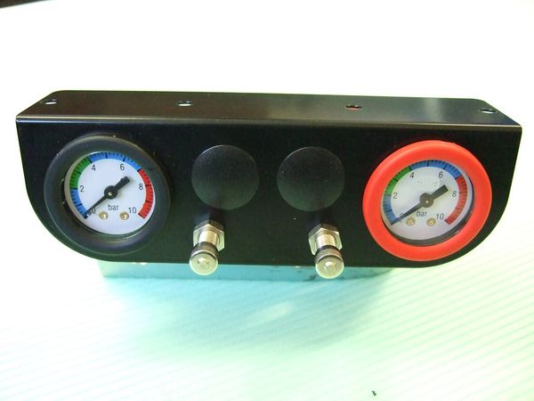 ( LF1) Manometer Panel incl. Blende 6,00 mm Anschluss