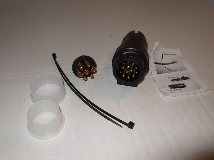 stecker 13 und 7pol kombistecker anh ngerkupplung f r wohnmobil und camper. Black Bedroom Furniture Sets. Home Design Ideas