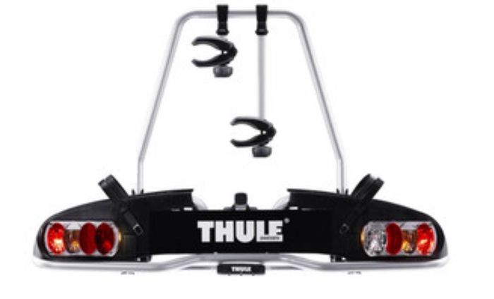 fahrradtr ger thule 915 europower f r elektrofahrr der als hecktr ger f r e bikes der thule 915. Black Bedroom Furniture Sets. Home Design Ideas