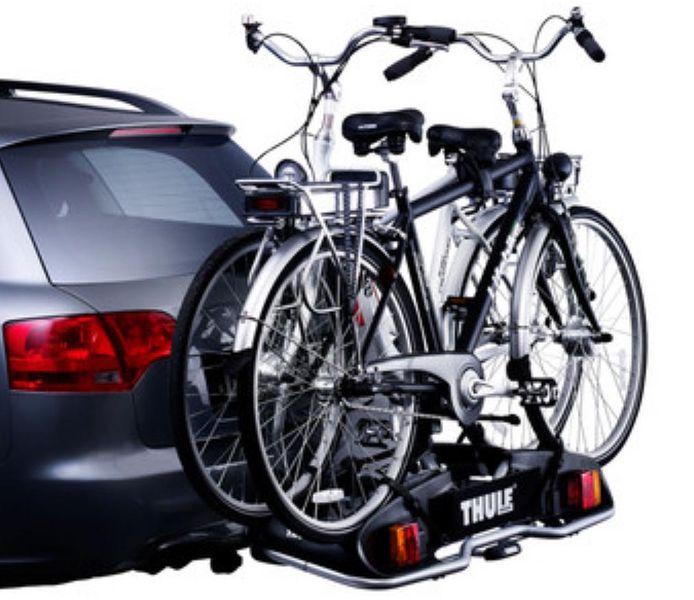 E- Bike Heckträger THULE 915 Europower für d. Anhängerkupplung AHK Heckträger für E-Bike Elektrofahrrad