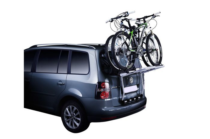 Ford B-Max, 5-T MPV Bj. 2012-, Thule Fahrradträger f. 3 Fahrräder für Heckträger für Ford Ford B-Max, 5-T MPV Bj. 2012- Heckträger als 3er Fahrradträger
