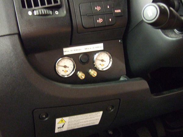 ( LF1) Manometerblende für Zweikreisanlage, Citroen/Fiat/Peugeot X250