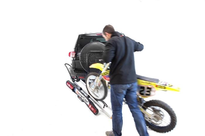TOWCAR Balance Motorradträger für d. Anhängerkupplung