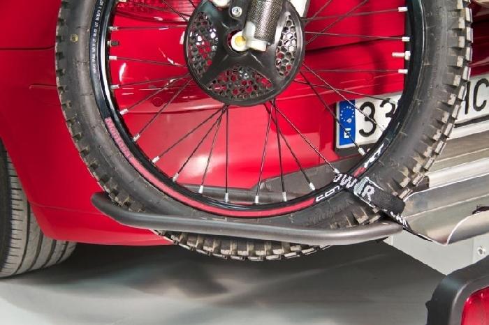 TOWCAR Racing, Vorderrad- Adapter AHK Heckträger für Roller Kleinkraftrad