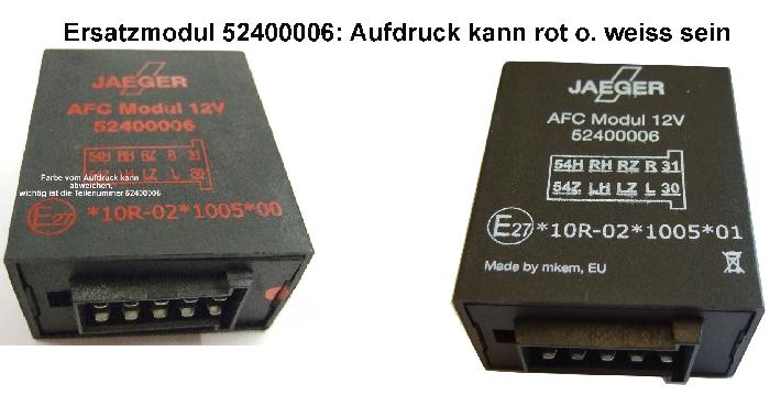 Modul Steuergerät JAEGER AFC Modul 12V Ersatz 52400006