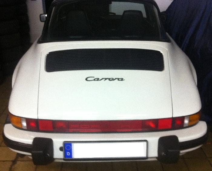Anhängerkupplung Porsche-911 (G-Modell) G- Modell, Montage nur bei uns im Haus, Baujahr 1973-1989