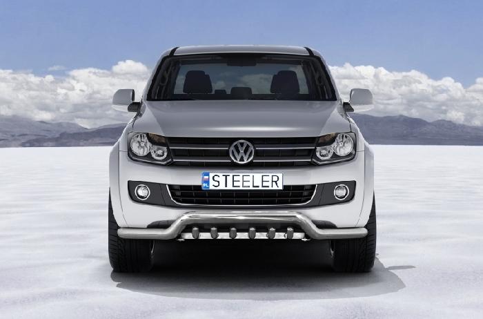 Frontschutzbügel Kuhfänger Bullfänger VW Amarok 2010-2016, Sportbar UR 70mm, schwarz beschichtet