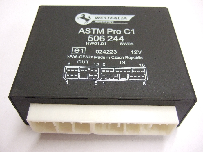 Modul Steuergerät Westfalia ASTM Pro C1 HW01.01 SW05 12V 506244