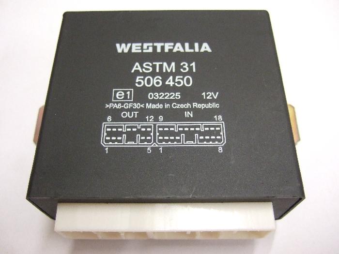 Modul Steuergerät Westfalia ASTM 31 506450