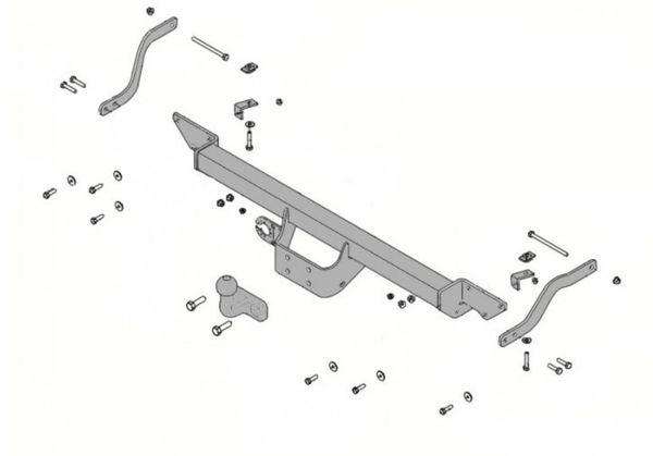 Anhängelast erhöhen Isuzu D-Max Typ 8DH 01.2007-05.2012 (feststehende AHK incl. Gutachten)