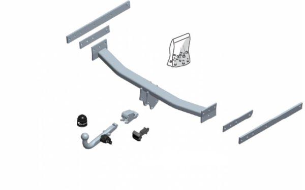 Anhängelast erhöhen Ford Kuga, 4WD, Automatikgetriebe, 2008-04. 2013 (horizontal abnehmbare AHK incl. Gutachten)