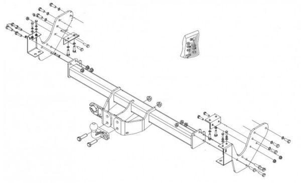 Anhängelast erhöhen Isuzu D-Max, 01. 2007-05. 2012 (feststehende AHK incl. Gutachten)